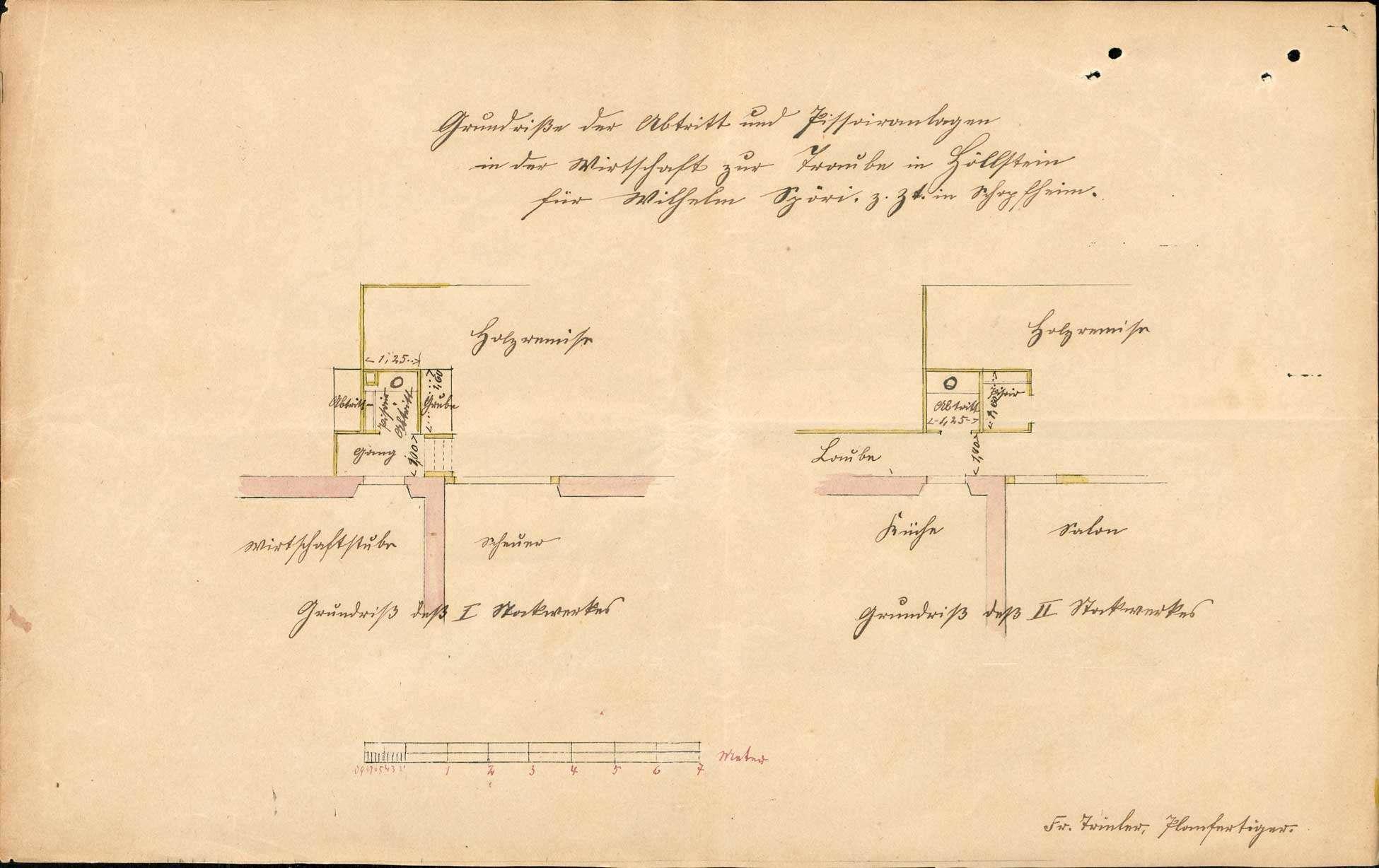 Verleihung der Wirtschaftskonzession für das Gasthaus Zur Traube in Höllstein, Bild 3