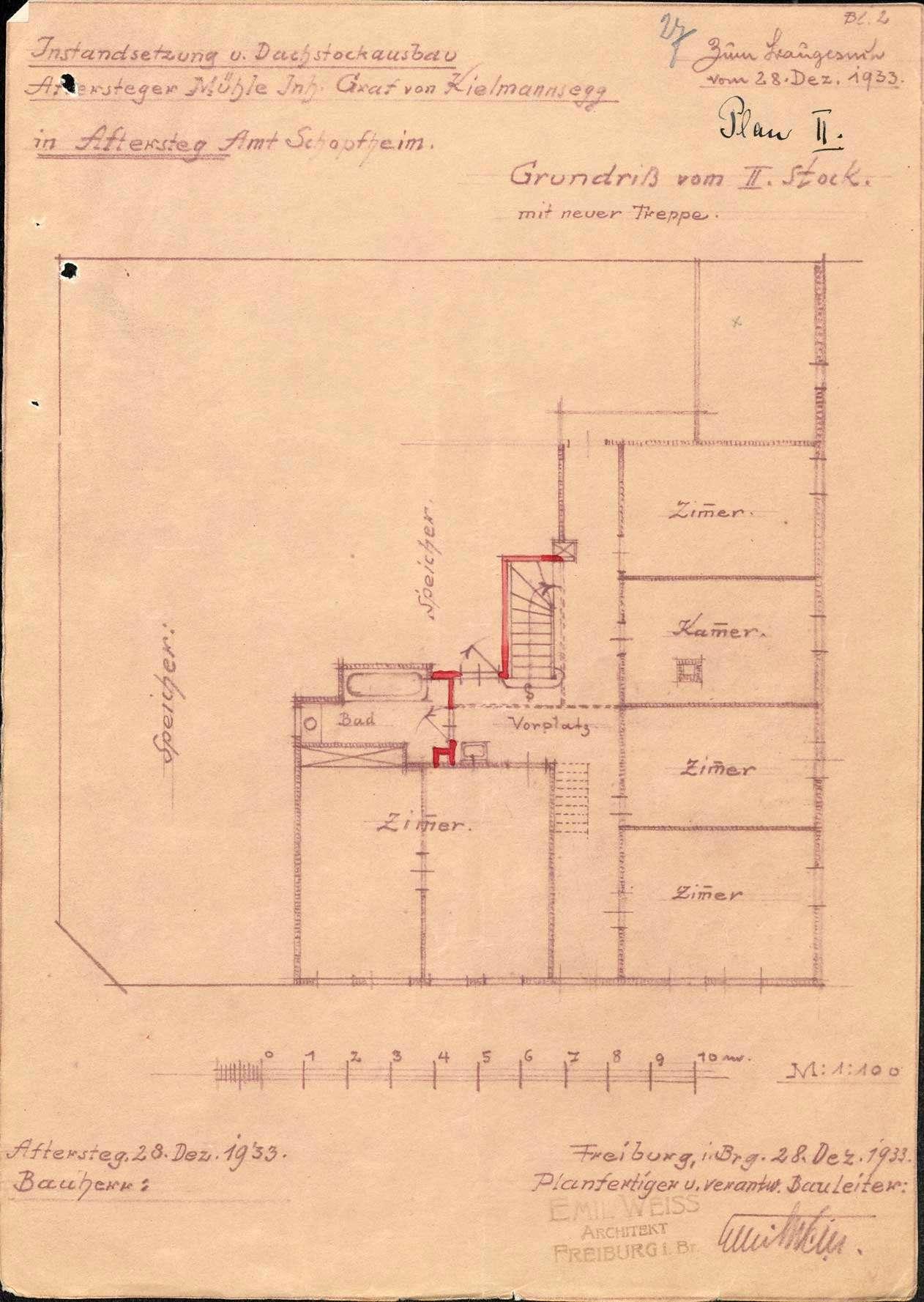 Verleihung der Wirtschaftskonzession an das ehemalige Gasthaus Zur Mühle, jetzt Zur Aftersteger Mühle, in Aftersteg, Bild 3