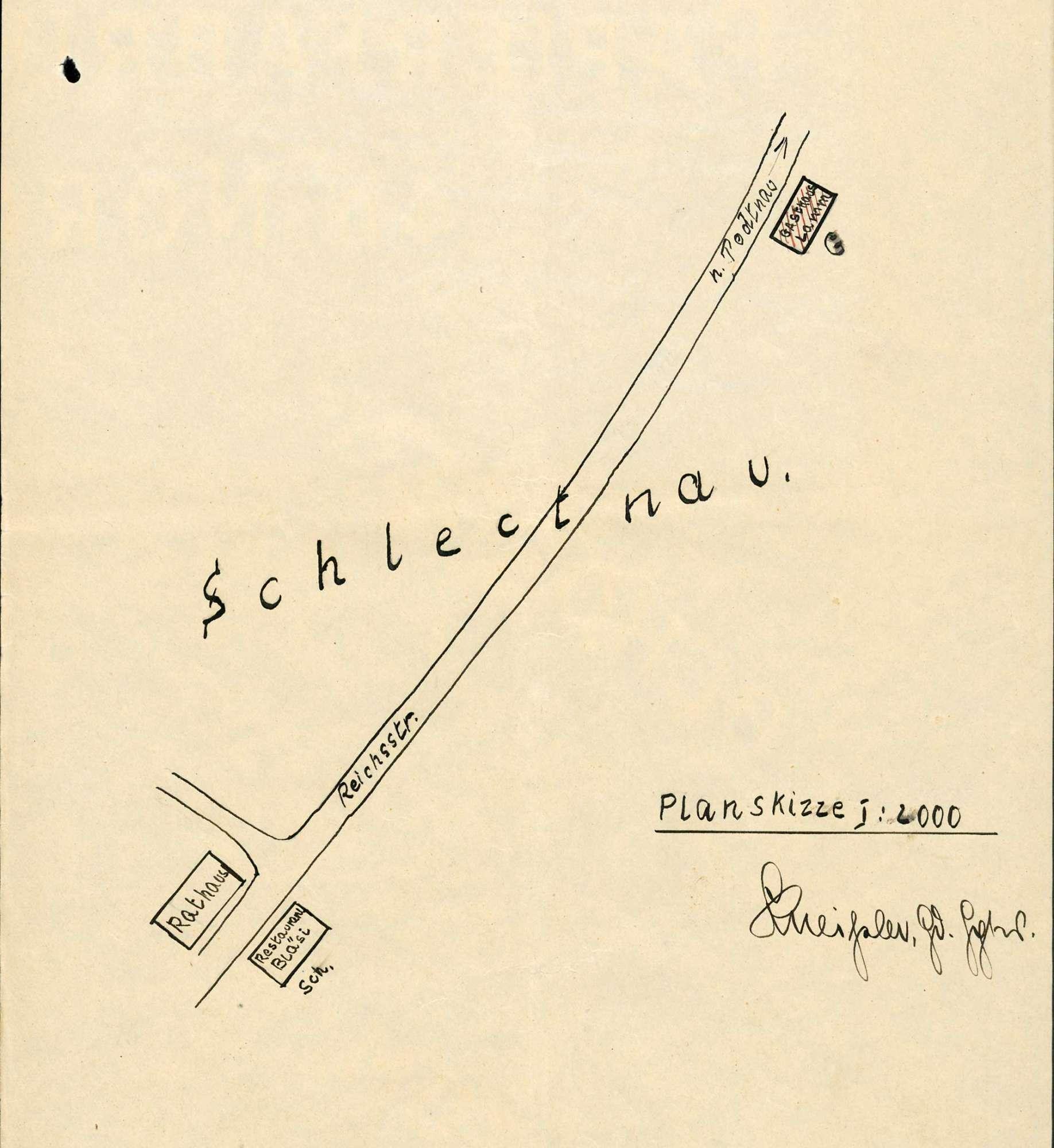 Verleihung der Wirtschaftskonzession für das Gasthaus Zum Lamm in Schlechtnau, Bild 3