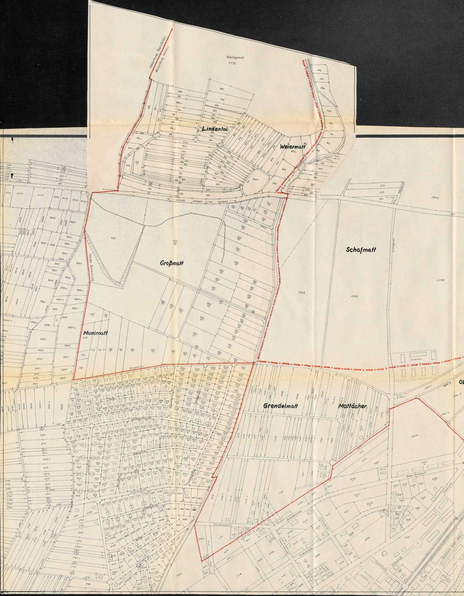Erweiterung des Gemeindegebietes der Stadt Rheinfelden (Baden) durch Eingliederung von Teilen der Gemarkung Karsau, Bild 2