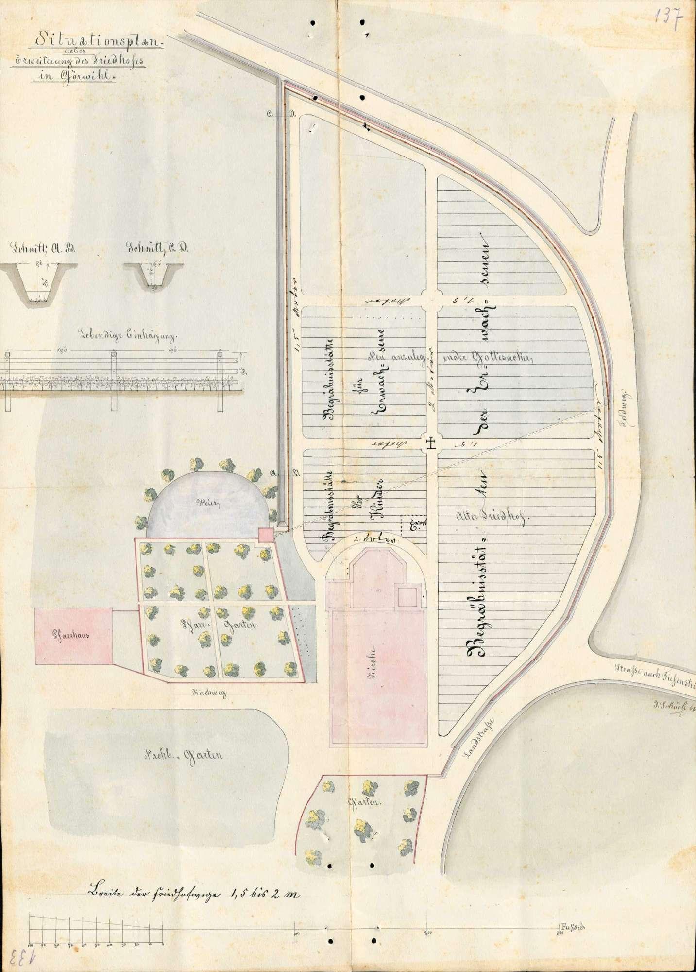 Erlass einer Friedhofsordnung für das Kirchspiel Görwihl, Bild 2