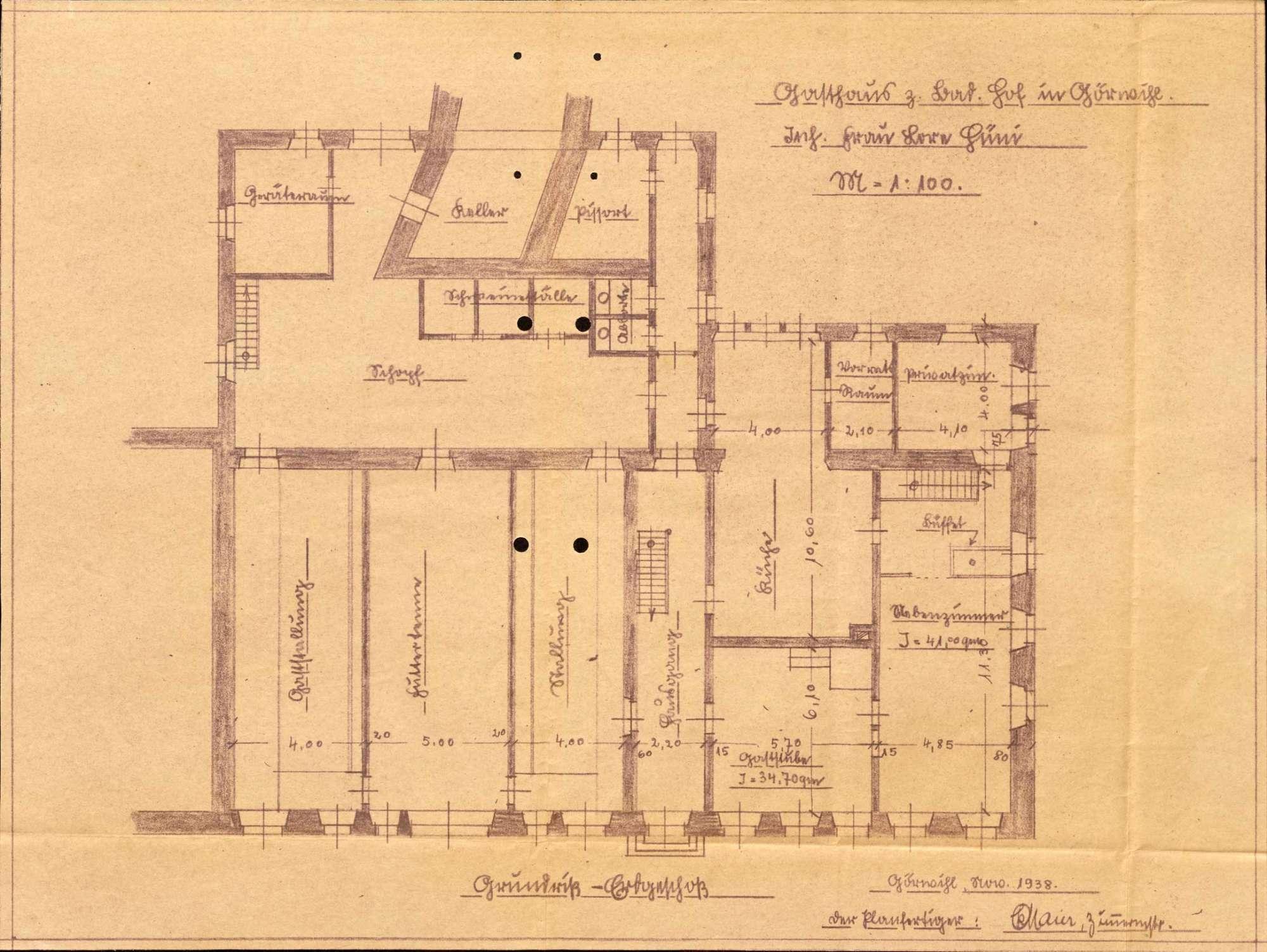 Konzessionierung und Betrieb der Gastwirtschaft Zum Badischen Hof in Görwihl, Bild 1