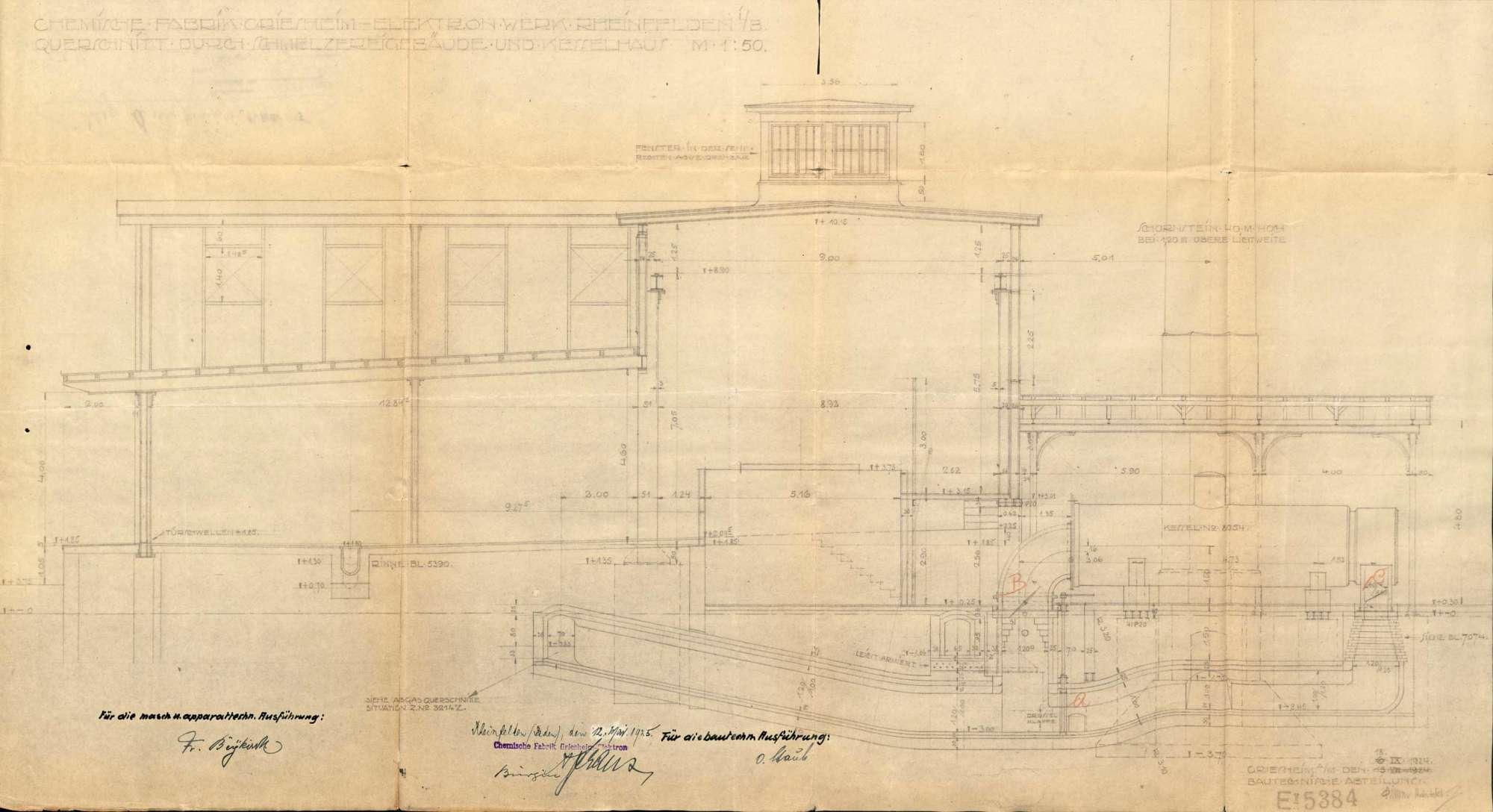 Dampfkessel der Firma Chemische Fabrik Griesheim-Elektron in Badisch Rheinfelden bzw. Rheinfelden (Baden), Bild 3