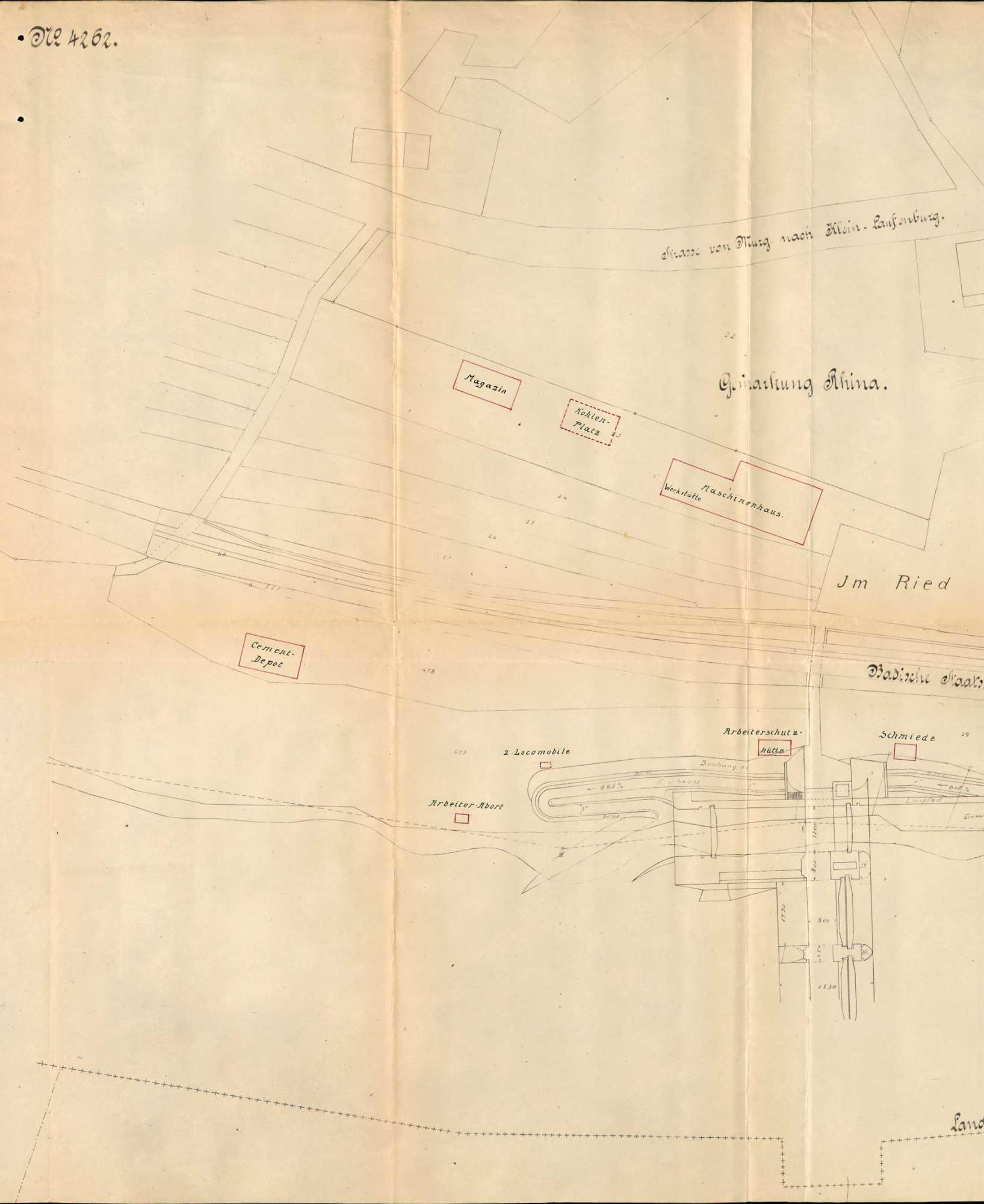 Dampfkessel der Firma Conrad Zschokke in Rhina, Bild 1