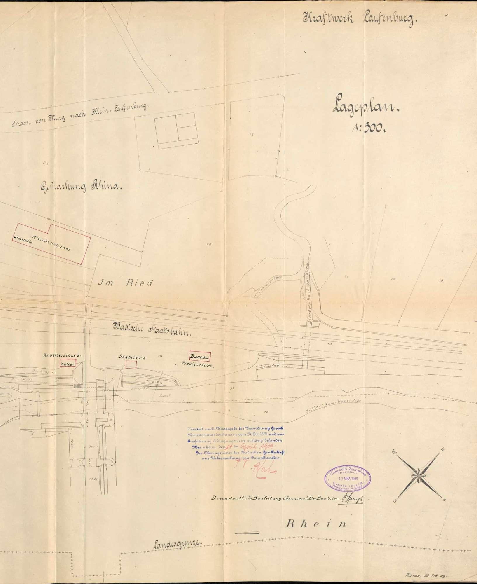 Dampfkessel der Firma Conrad Zschokke in Rhina, Bild 2