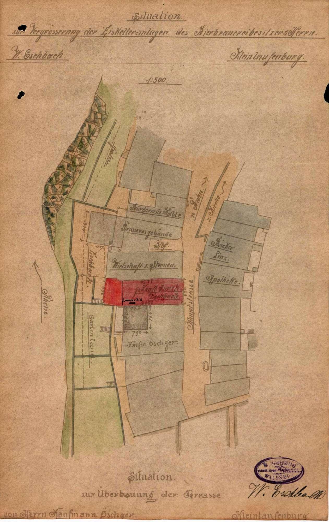 Dampfkessel der Firma Wilhelm Eschlach in Kleinlaufenburg, Bild 2