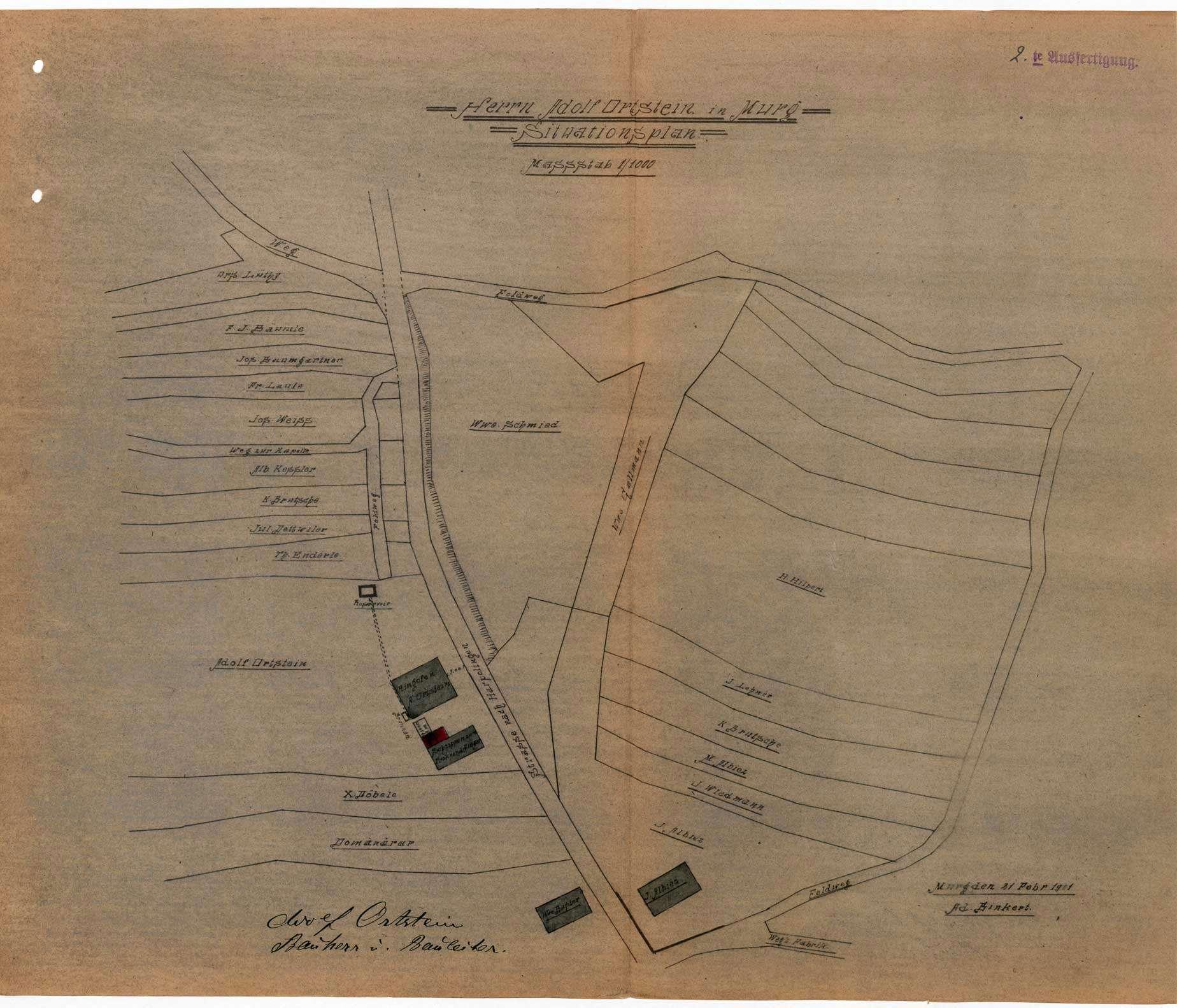 Dampfkessel der Firma Adolf Ortstein in Murg, Bild 1