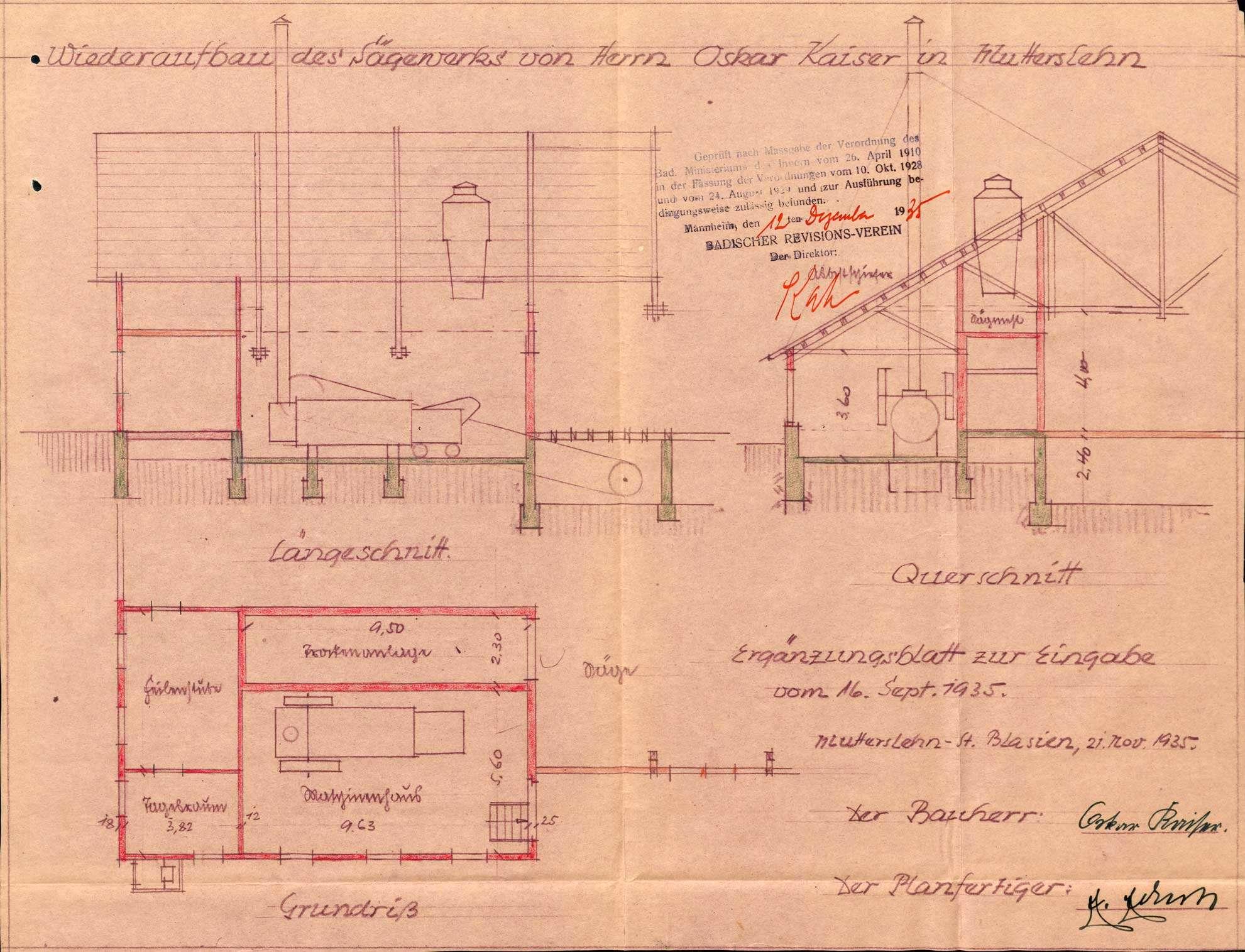 Dampfkessel der Firma Sägewerk Oskar Kaiser in Mutterslehen, Bild 2
