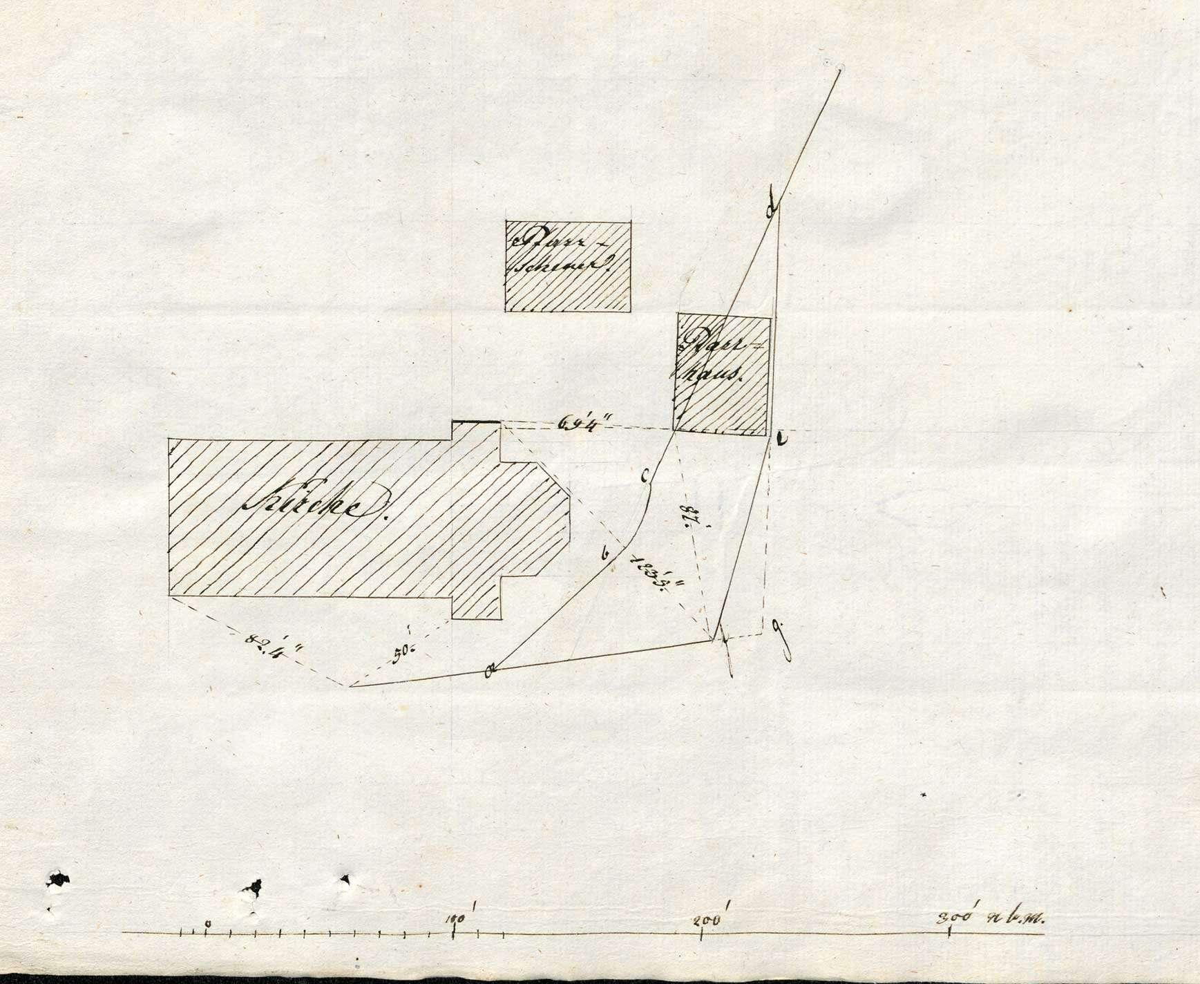 Erbauung der Pfarrgebäulichkeiten in Herrischried, Bild 1