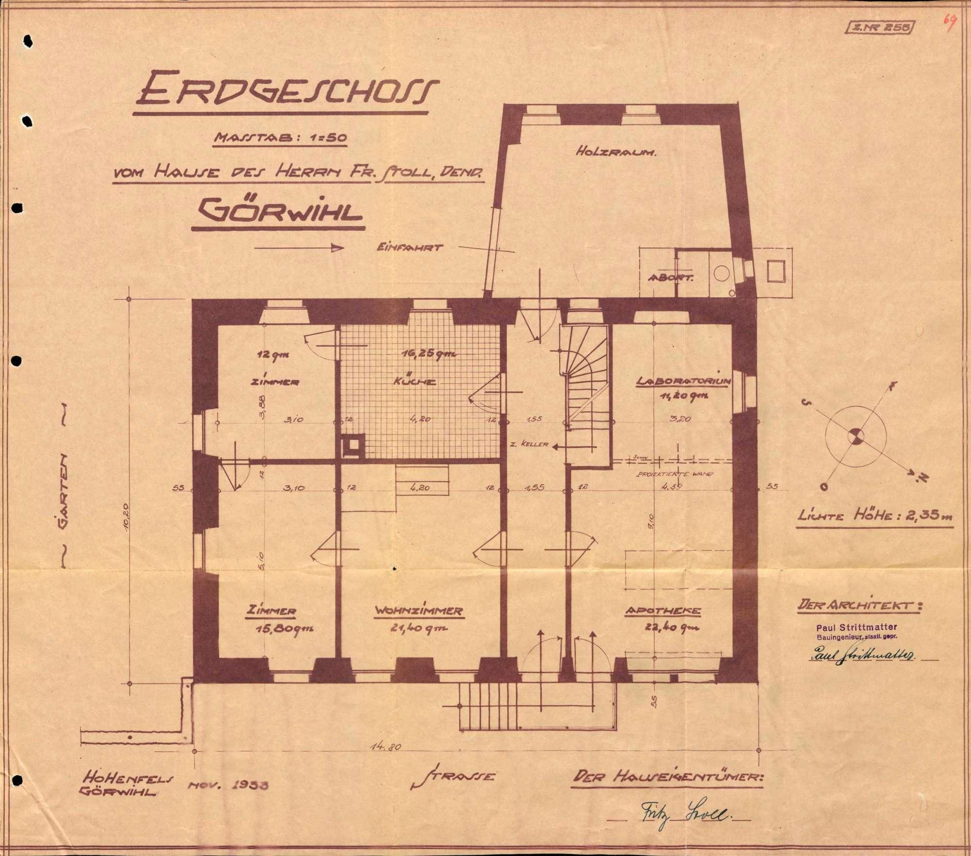 Betrieb der Apotheke in Görwihl, Bild 3