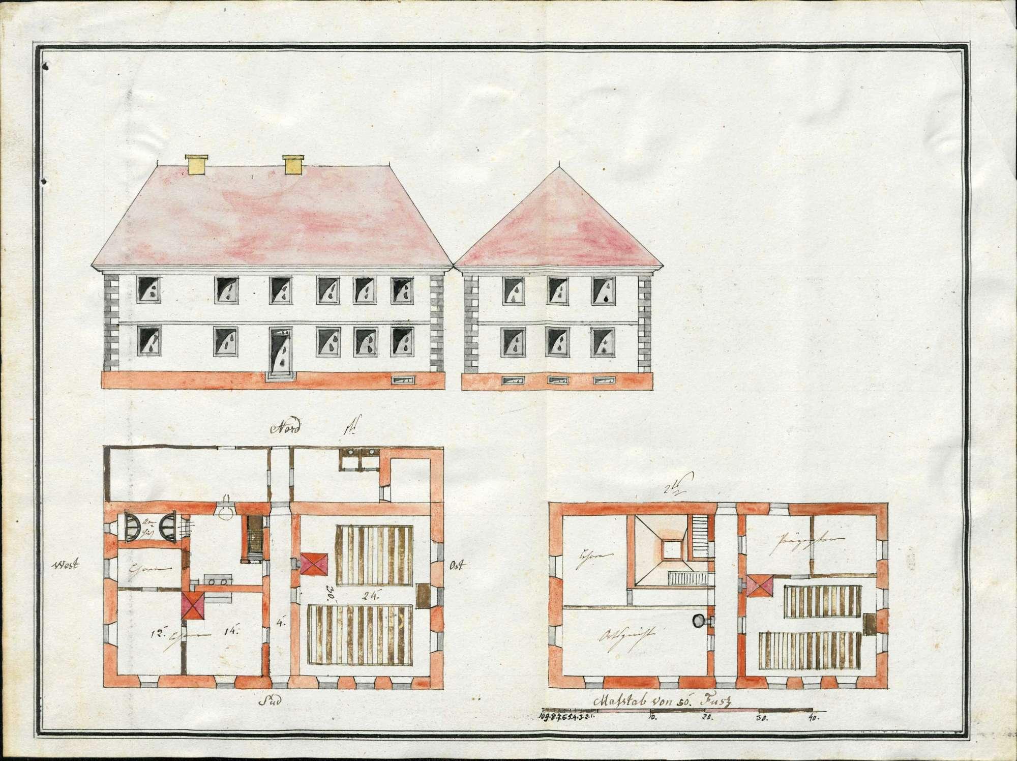 Erbauung und Unterhaltung des Schulhauses zu Herrischried, Bild 1