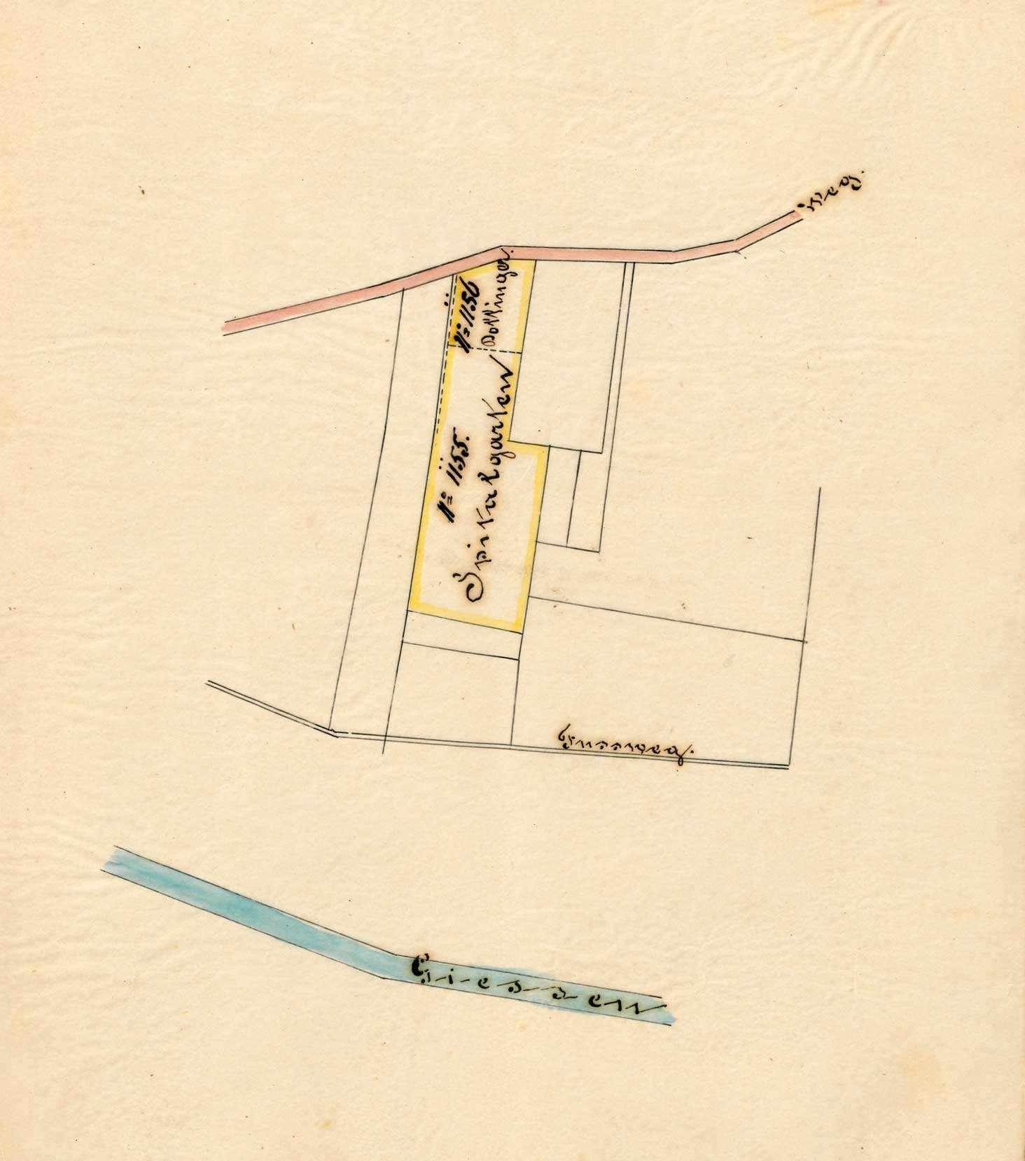 An- und Verkauf von Grundstücken durch das Spital in Säckingen, Bild 1
