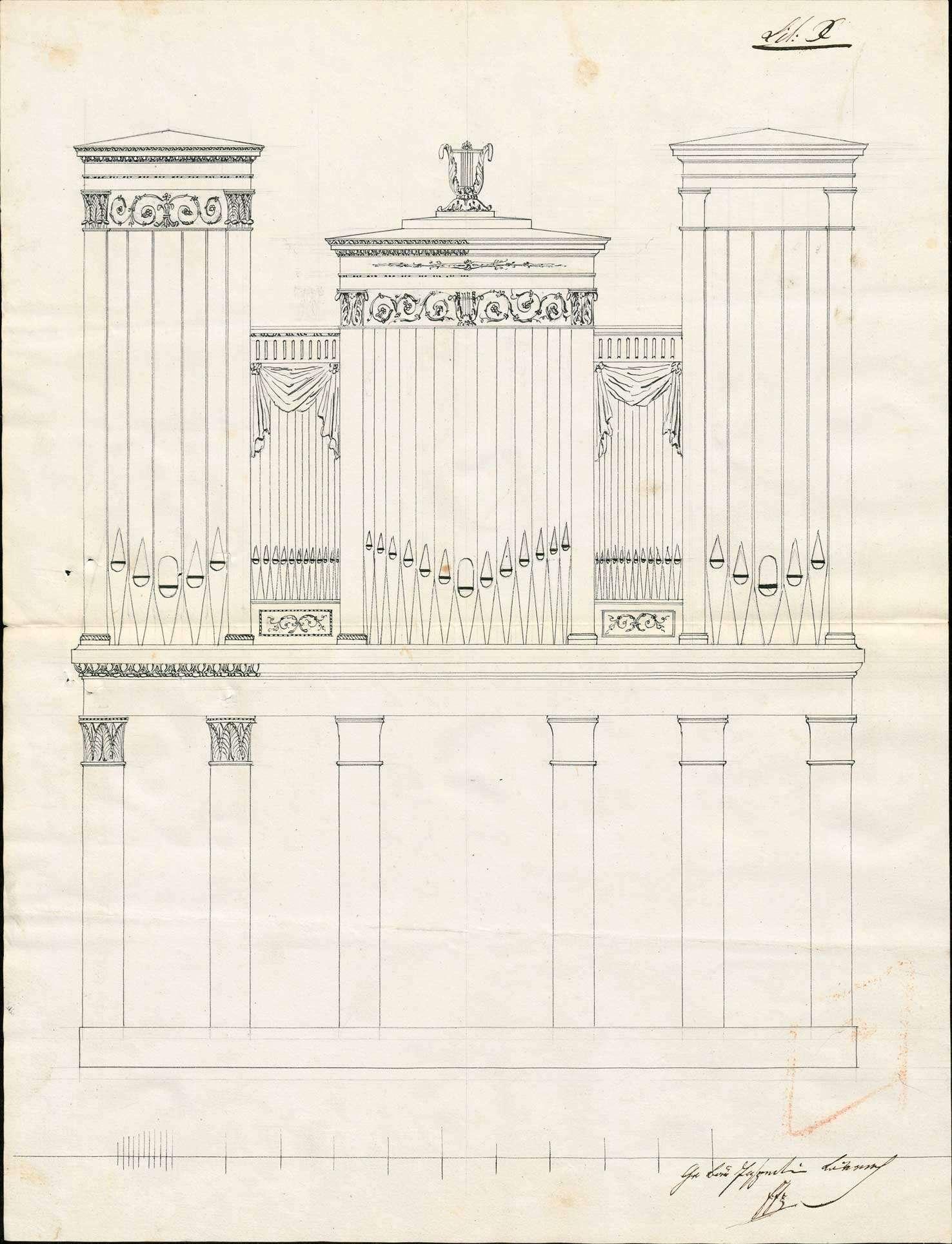 Anschaffung einer Orgel für die neue Kirche zu Murg, Bild 1