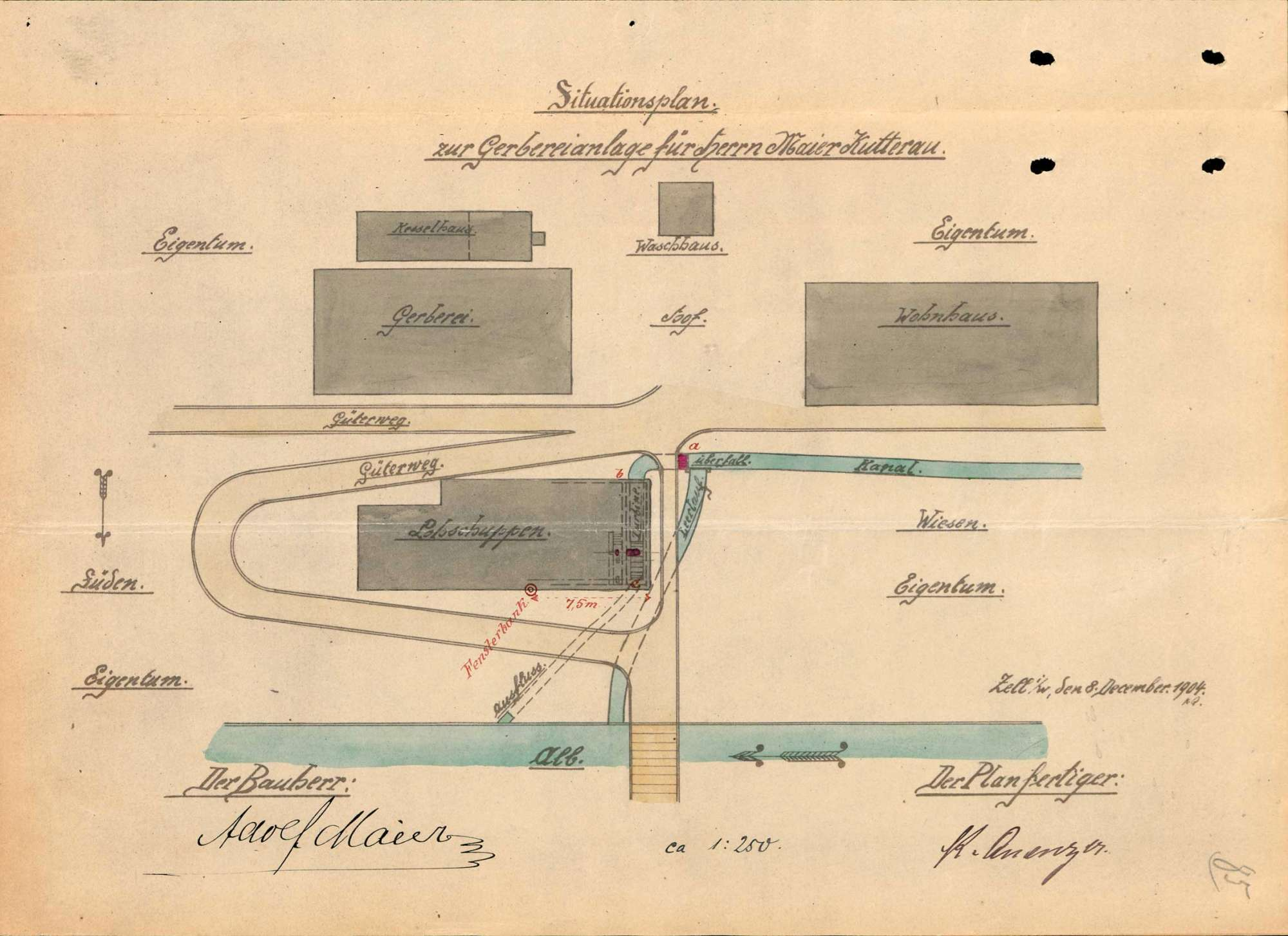 Lohmühle der Gerberei Maier in Oberkutterau, Bild 3