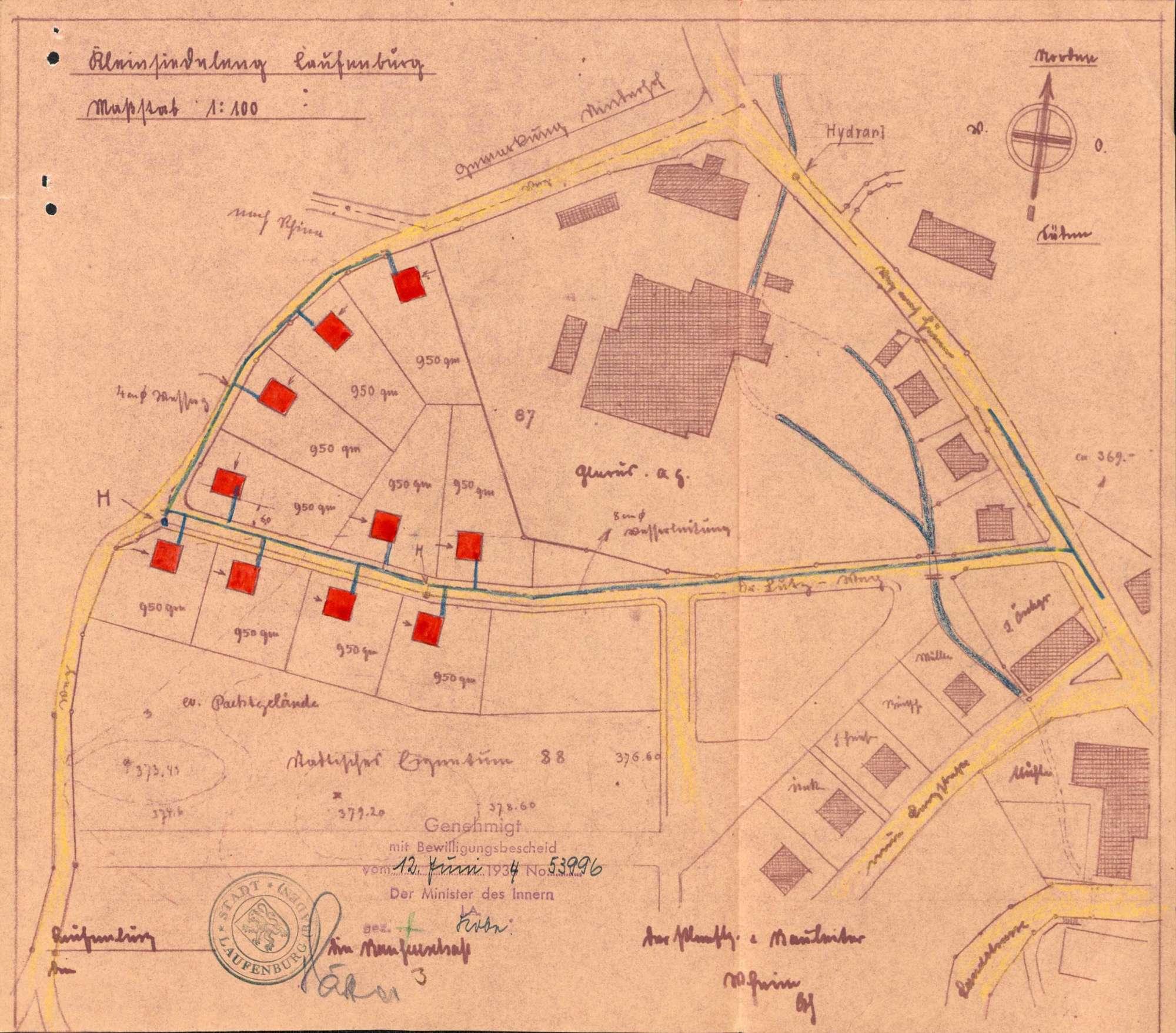 Errichtung einer vorstädtischen Kleinsiedlung durch die Stadt Laufenburg (Baden), Bild 2