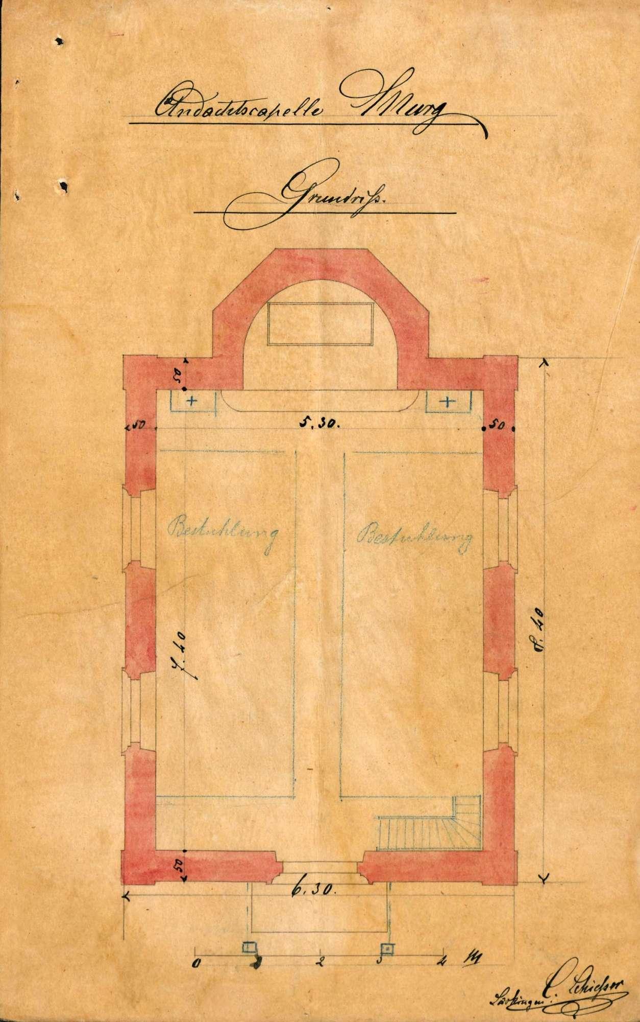 Neubau einer Kapelle in Murg, Bild 2