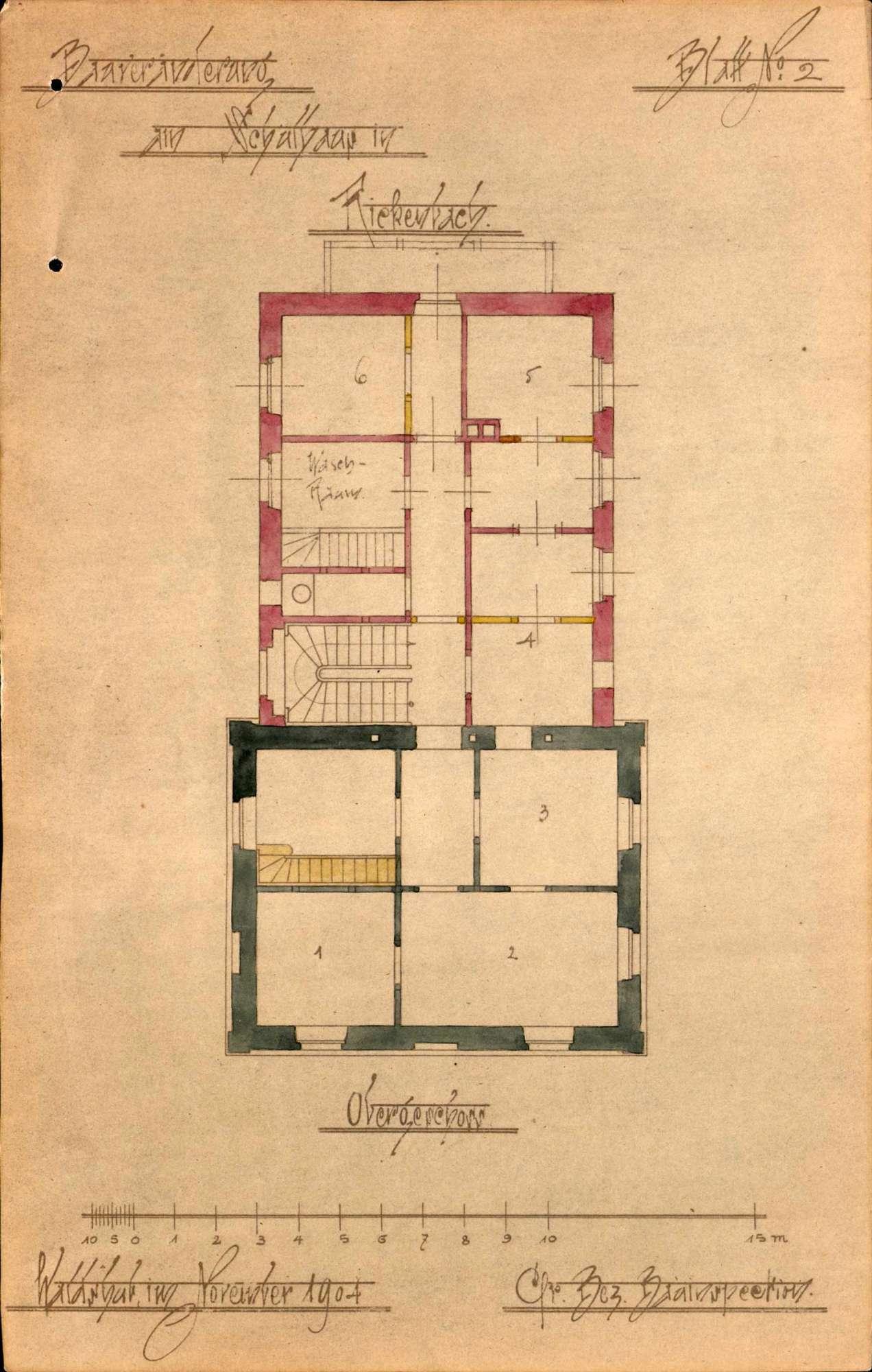 Bauliche Unterhaltung und Umbau des Schulhauses in Rickenbach, Bild 2