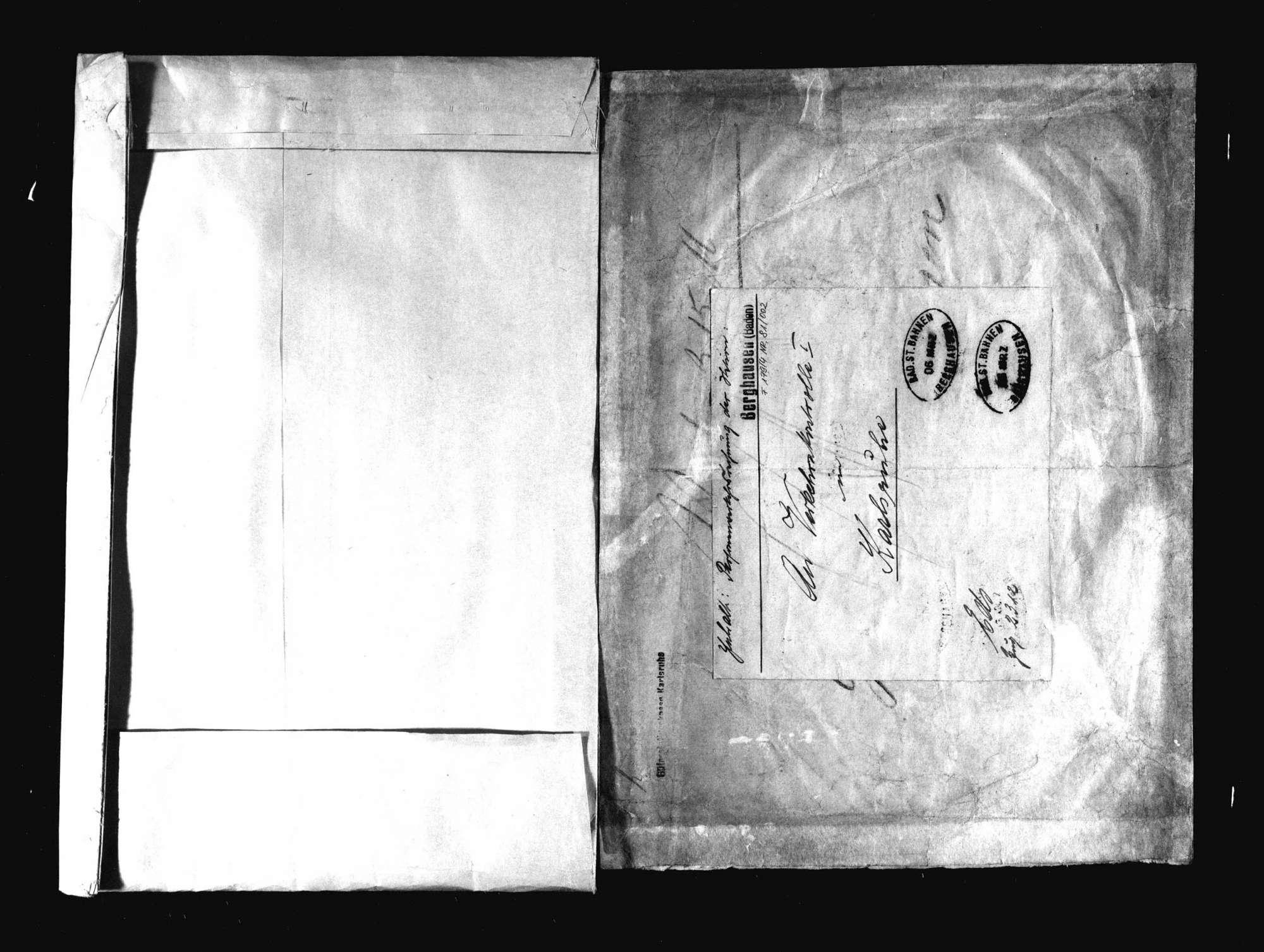 Sammlung von Gepäckaufbewahrungsscheinen der Bahnstation Appenweier, Bild 2