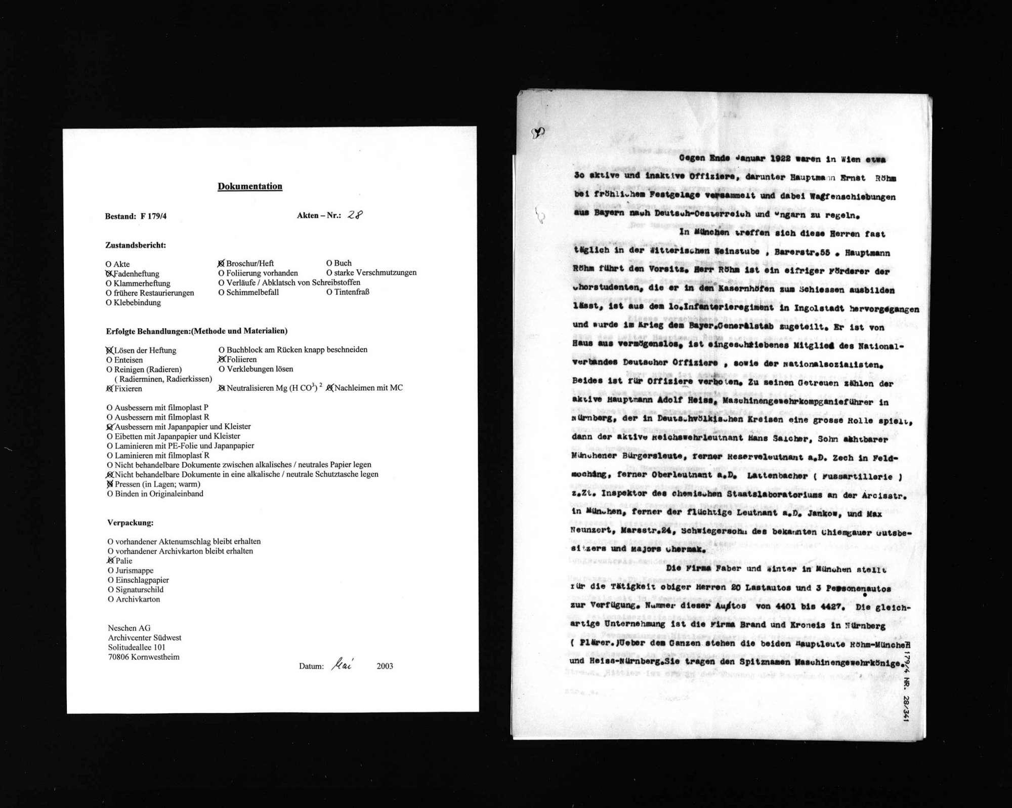 Ermittlungen nach der Tat im rechtsextremen Umfeld, Bild 1