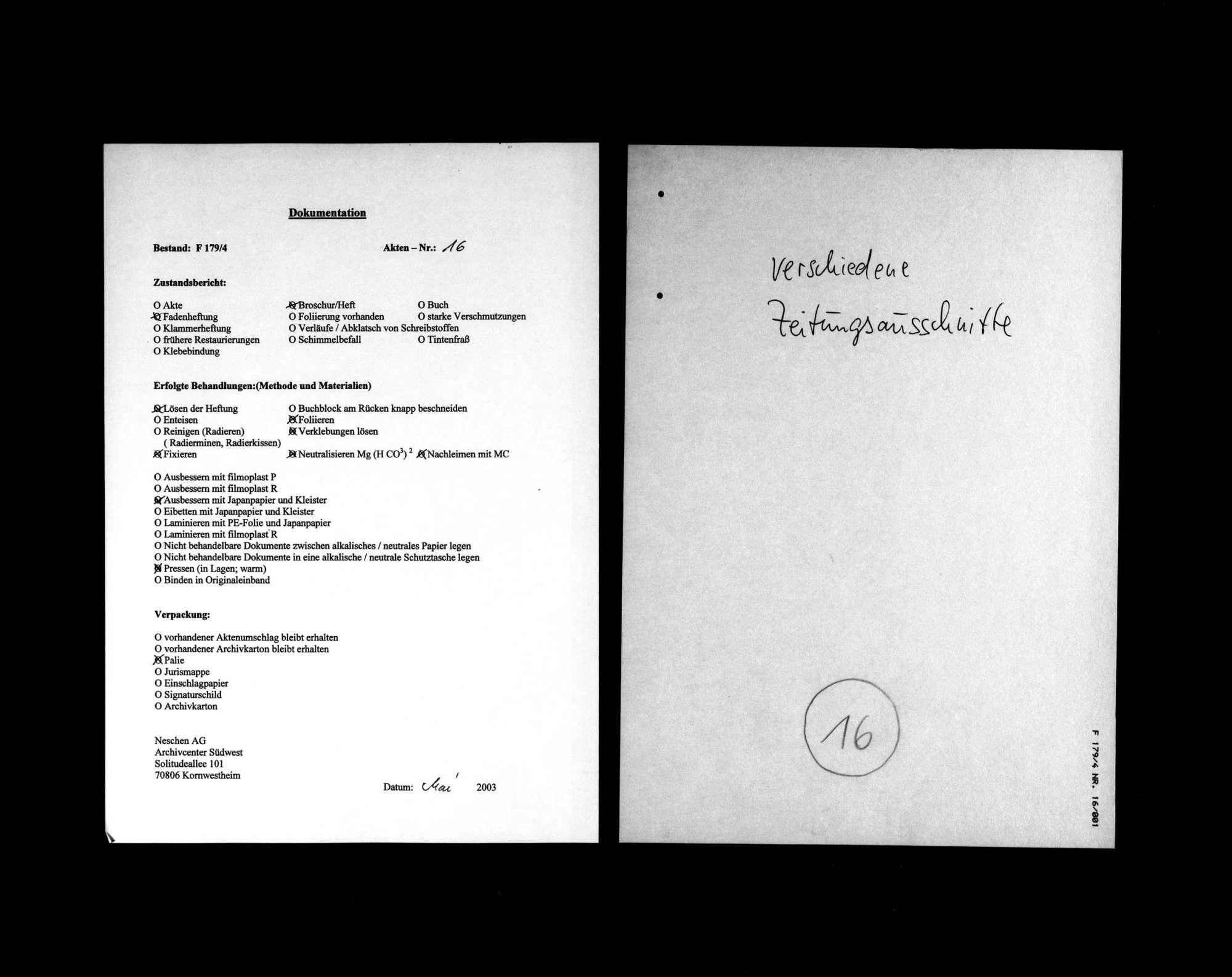 Zeitungsausschnitte über die Ermordung Matthias Erzbergers, Bild 1