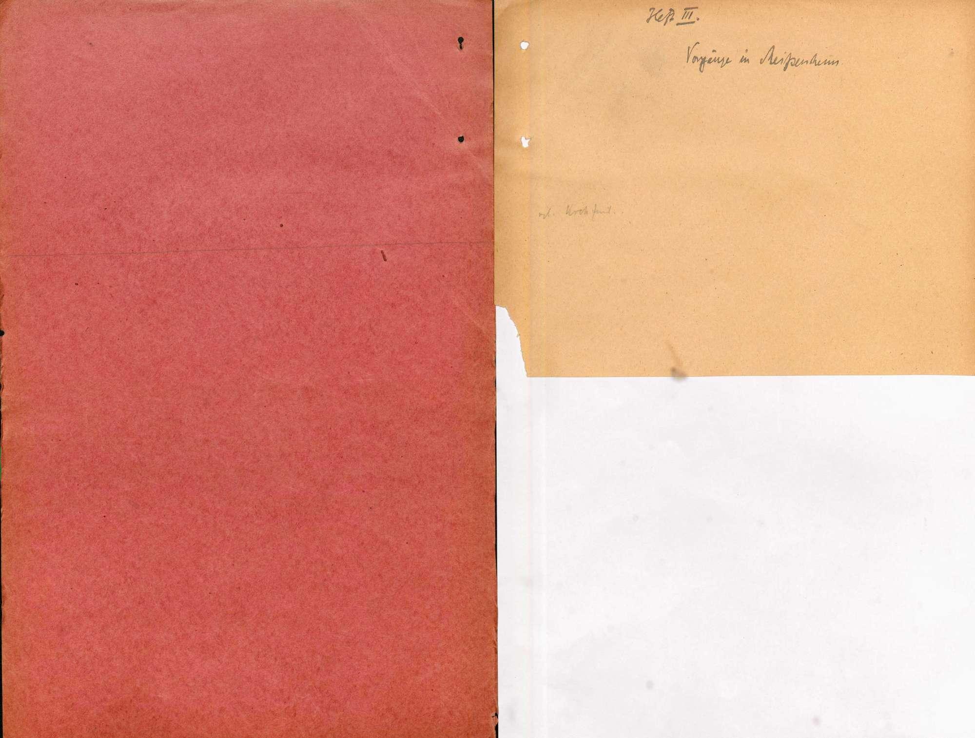 Strafsache gegen Wilhelm Gern, Lahr, und weitere 10 Angeklagte wegen Aufruhr, Teilnahme an bewaffneten Haufen, unerlaubter Waffenbesitz, Widerstand (Lahrer Unruhen, Oktober 1923), Bild 2