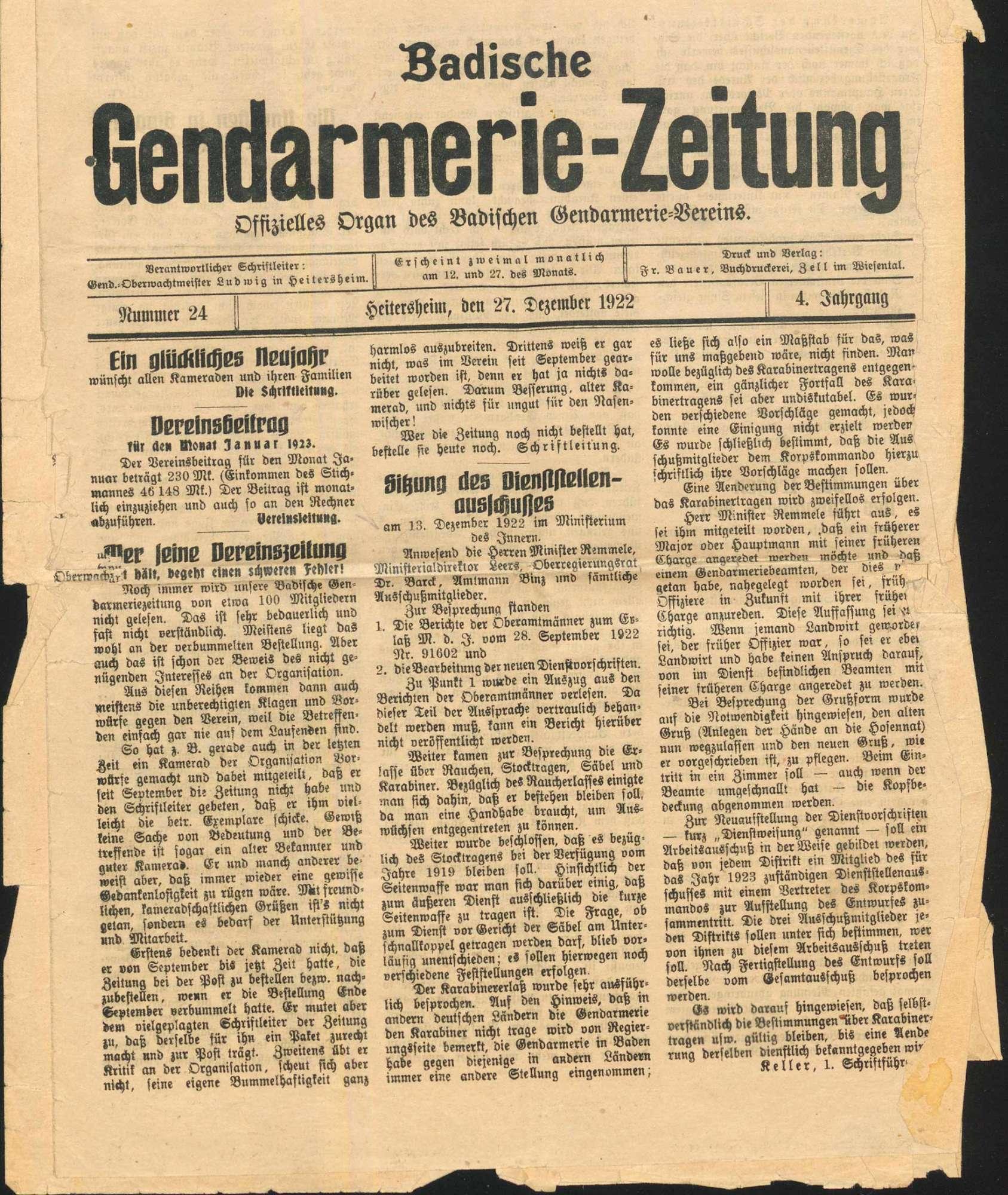 Johann Schmid, Gießer, Eigeltingen wegen Totschlags (an Major Scherer, Singen, im Anschluss an eine Demonstration wegen des Rathenau-Mordes), Bild 3