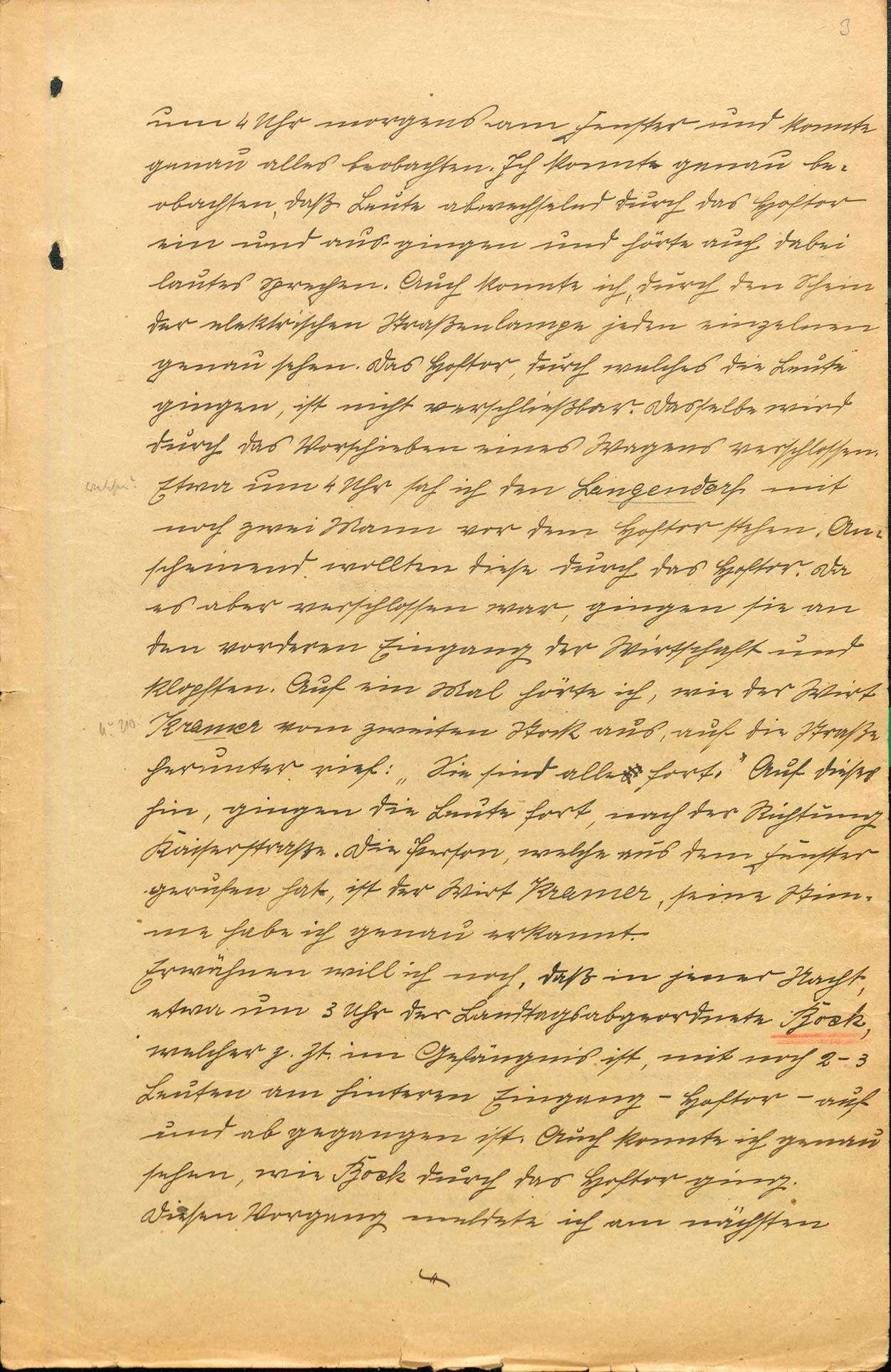 Untersuchung gegen Johann Georg Wirth und andere Personen, Lahr wegen Landfriedensbruch (Beteiligung an den kommunistischen Unruhen in Lahr, Nov. 1923), Bild 3