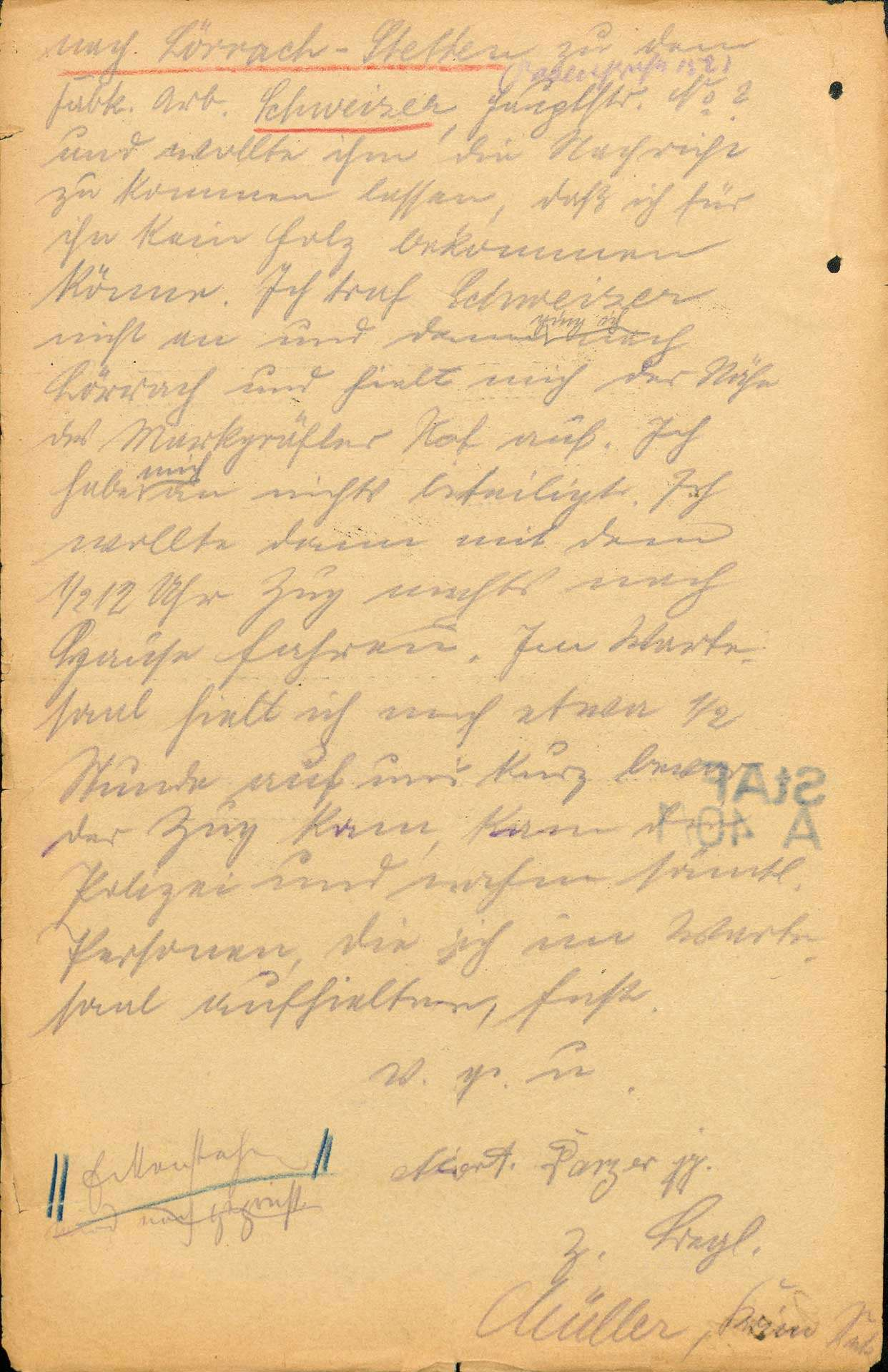 """Ermittlungen gegen Teilnehmer und """"Hetzer"""" an den Lörracher Unruhen 1923, Bild 2"""