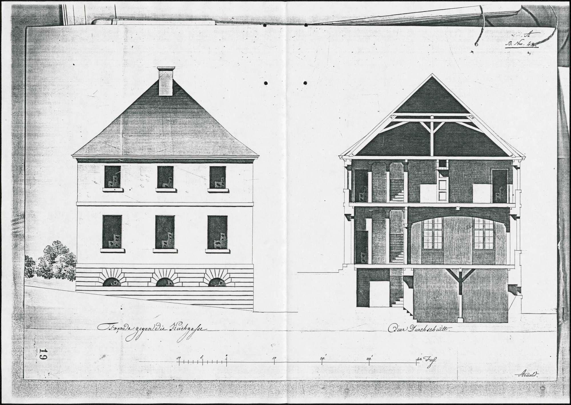 Schulhausbau in Buchheim, Bild 2