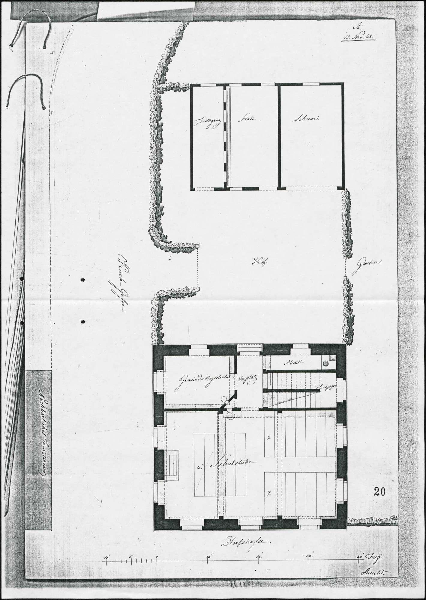 Schulhausbau in Buchheim, Bild 3