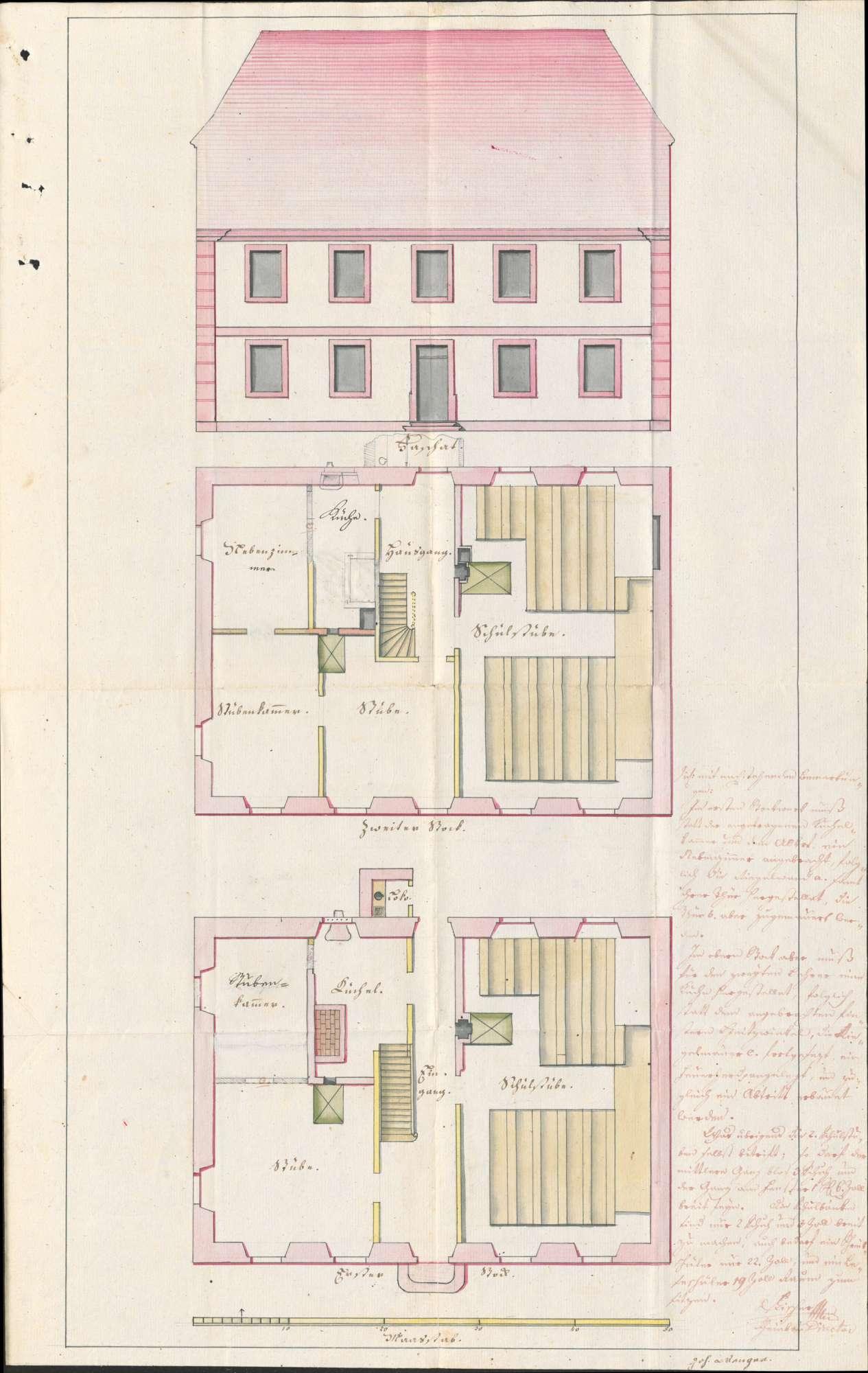 Schulhausbau in Biengen, Bild 3