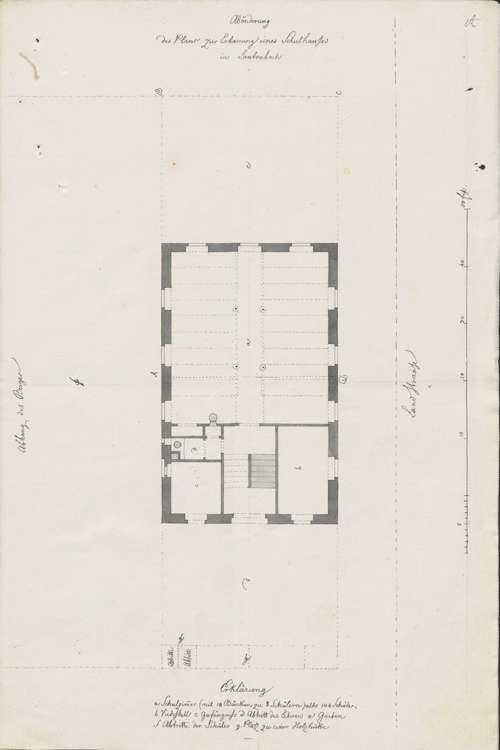 Bau eines Schulhauses in Lautenbach; Schuldienst in Lautenbach, Bild 2