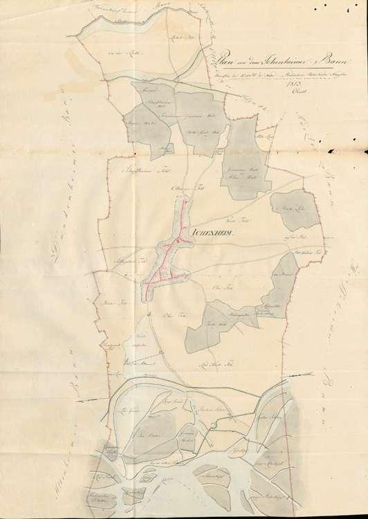 Urbarmachung der Weidedistrikte der Gemeinden Altenheim, Dundenheim, Ichenheim, Bild 1