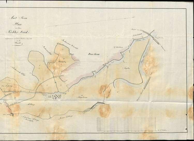 Urbarmachung und Verteilung des dem Dorf Kehl mit Sundheim gehörigen so genannten Kehler Rieds, Bild 2