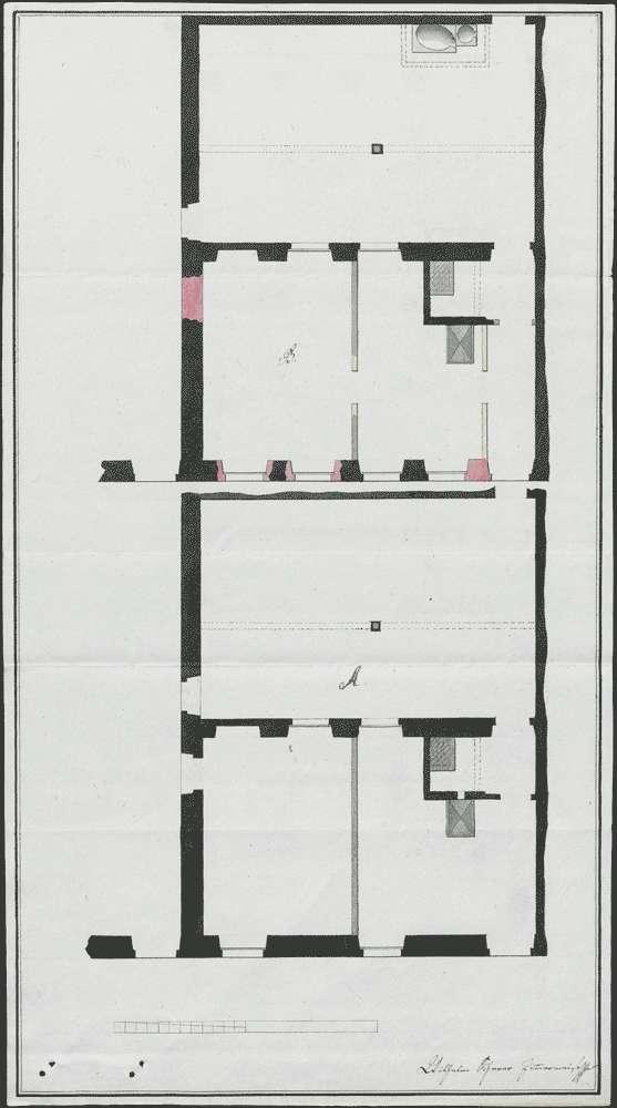 Verkauf eines Scheuergebäudes des ehemaligen Fürstentums Heitersheim auf Freiburger Gemarkung, Bild 1