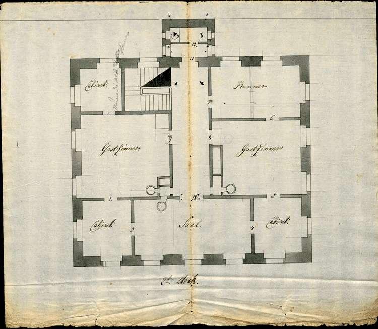 Bau des Pfarrhauses zu Sasbach, Bild 2