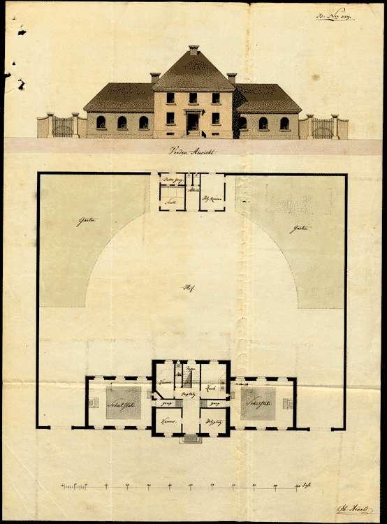 Schulhausbau in Eschbach, Bild 1