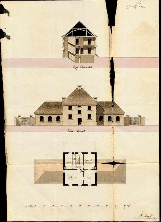 Schulhausbau in Eschbach, Bild 2