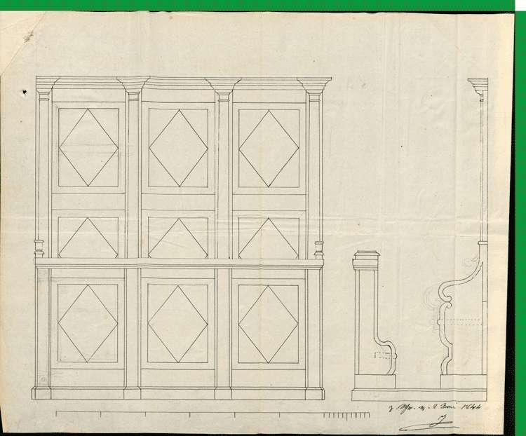 Kirchenbau zu Oberwinden, Bild 1