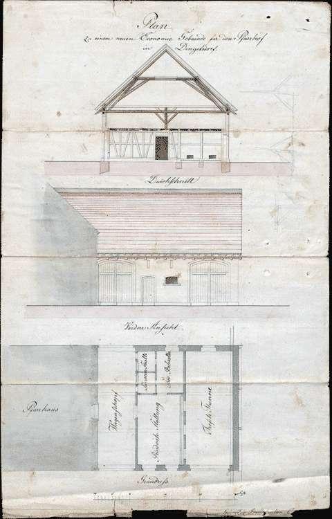 Fronablösung , Streitigkeiten wegen Hand- und Fuhrfronleistungen zum Pfarrhausbau in Dingelsdorf, Bild 1