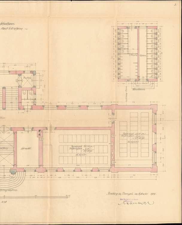 Neubau eines Schulhauses in Ettenheim, r