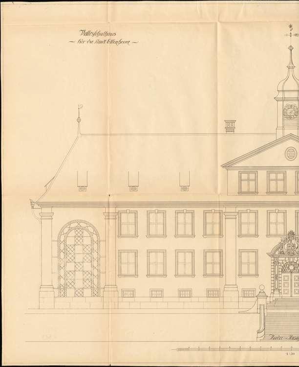 Neubau eines Schulhauses in Ettenheim, l