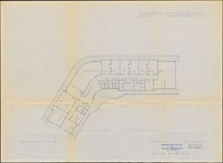 Um- und Erweiterungsbau des Hochkopfhauses des Schwarzwaldvereins Freiburg auf Gemarkung Präg; Grundriss Dachgeschoss, Bild 1