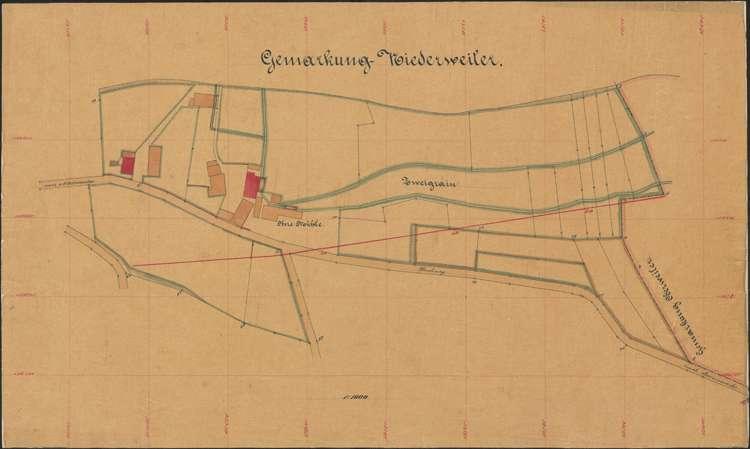 Niederweiler, 1:1000, Bild 1