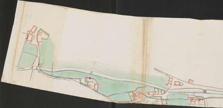 Bachplan von Niederweiler, 1.vl