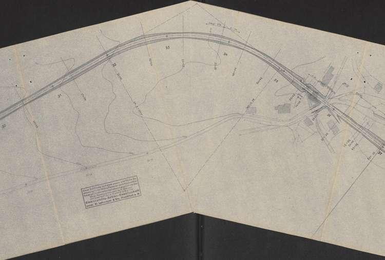 Schluchseewerk Oberstufe; Verlegung der Landstraße 50/197 Aha - Schluchsee; Los I, m