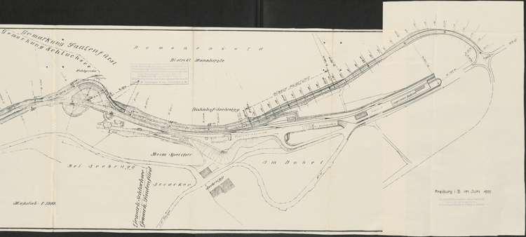 Schluchseewerk Oberstufe; Verlegung der Landstraße 50/197 Aha - Schluchsee; Los II, r