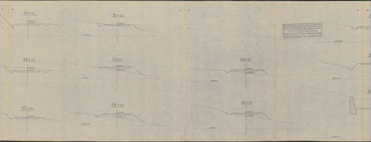 Schluchseewerk Oberstufe; Verlegung der Landstraße 50/197 Aha - Schluchsee; Los I, 3.vl
