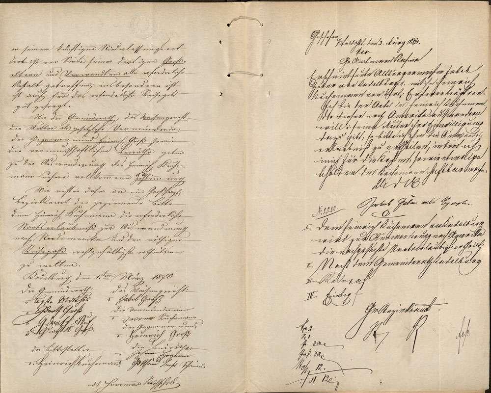 Auswanderung: Heinrich Kuchemann, Kadelburg, nach Cincinnati/US-Bundesstaat Ohio, Bild 3