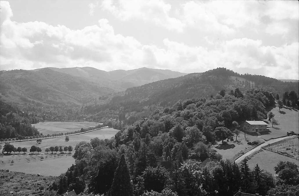 Freiburg i. Br.: Blick vom Lorettoberg nach Günterstal, Bild 1